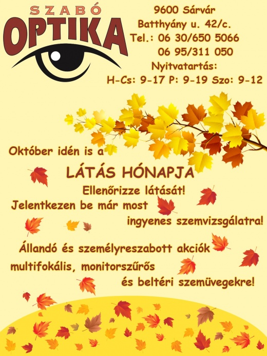 """Akciók – Oldal 2 – """"Szabó Optika d2b939a7b2"""